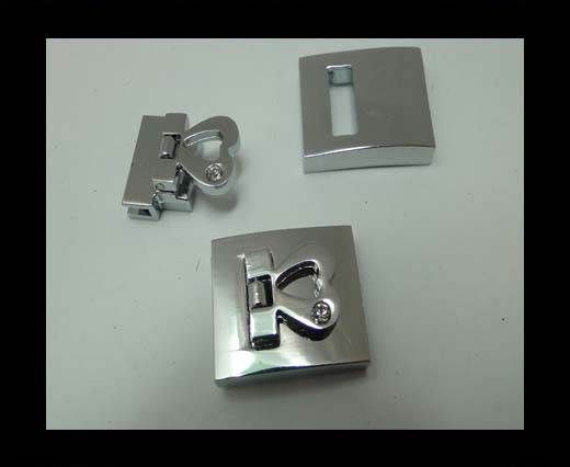 Zamak magnetic claps MGL-164-20*3mm-YK