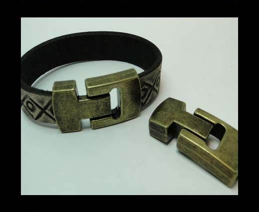 MGL-345-15*4mm-Antique GOLD