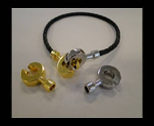 Magnetic Locks for leather Cords - MGL-39