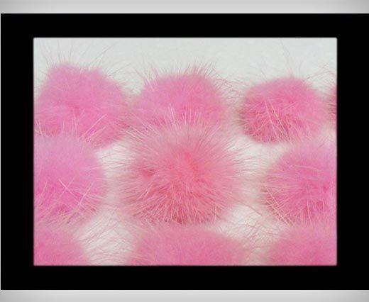 Mink Pom Pom Light Pink