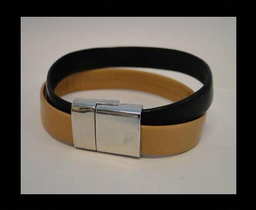 Non Steel Leather Bracelets MLBSP-21