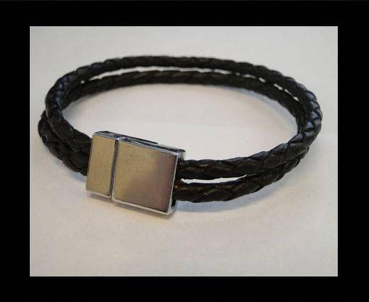 Non Steel Leather Bracelets MLBSP-41