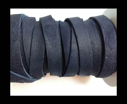 Nubuck Flat - 3mm - NAVY BLUE
