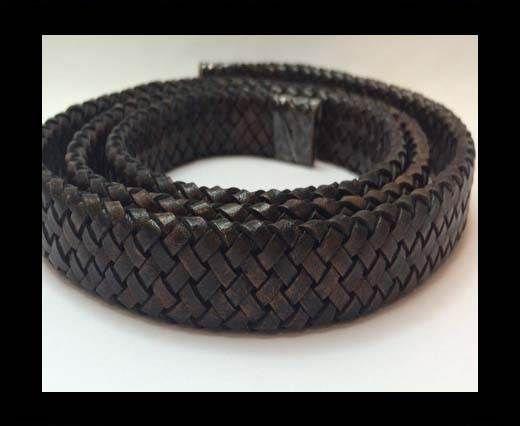 Oval Regaliz braided cords - SE.DB.02