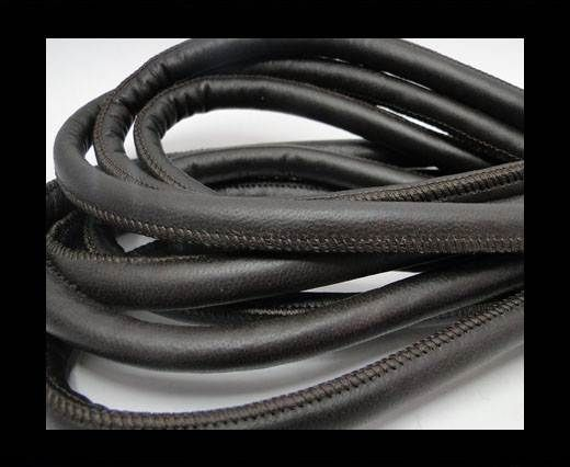 Real Nappa Leather Cords-Dark Grey-10mm