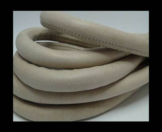 Real Nappa Leather Cords-Beige-12mm