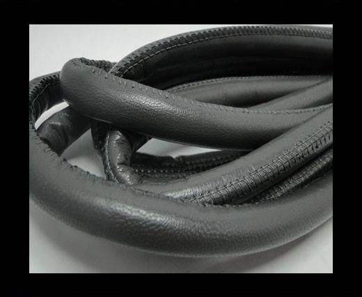 Real Nappa Leather Cords-Dark Grey-12mm