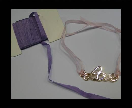Real Silk Ribbons - A027-Light Violet- 4mm