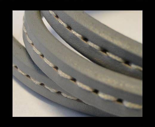 Regaliz-Leather-Stitched Style-Grey