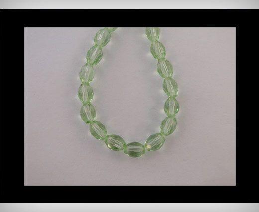 Rice Glass Beads -4mm*6mm-Peridot