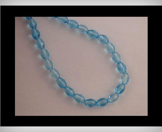 Rice Glass Beads -4mm*6mm-Turqoiuse
