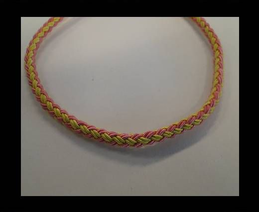 Round-Braid-Cotton-Yellow & Pink