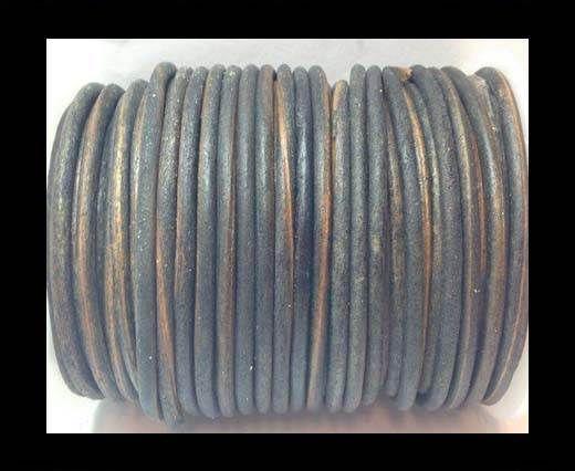 Round Leather Cord 4mm-SE.V.Grey