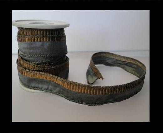 SC-Silk-Ribbon-Grey with Brown Tracks