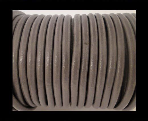 Round Leather Cord SE- Light Purple-5mm
