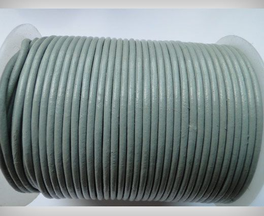 Round Leather Cord SE/R/28-Beige - 2mm