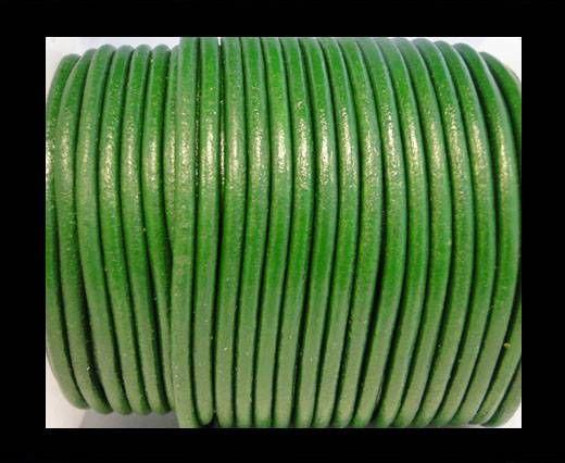 Round Leather Cord SE/R/Mehandi - 2mm