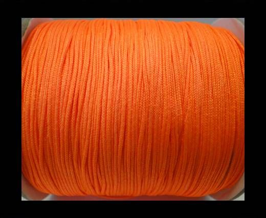 Shamballa-Cord-1mm-Fluorescent Orange