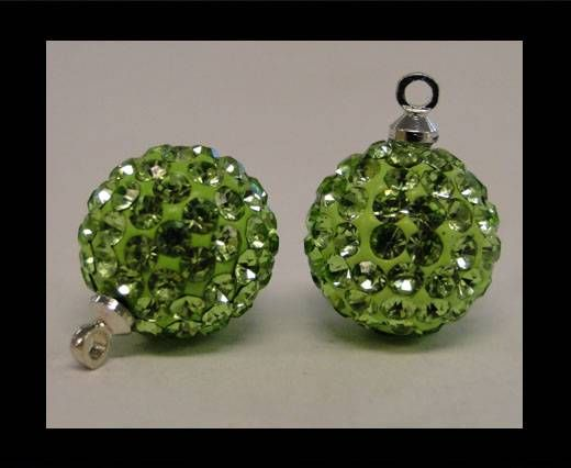 Shamballa-Crystal-Hanger-12mm-Peridot