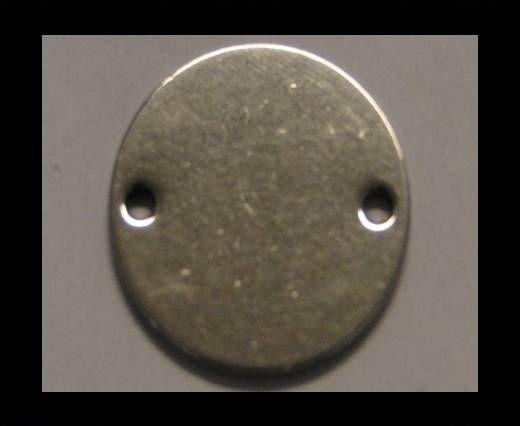 Stainless steel logo plate SSP-166