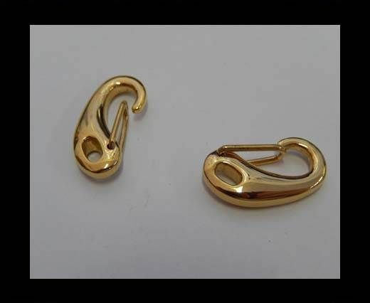Stainless Steel Lanyard Clasp - SSP-23-20mm-Gold