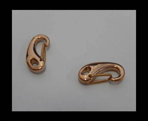 Stainless Steel Lanyard Clasp - SSP-23-20mm-Rose Gold