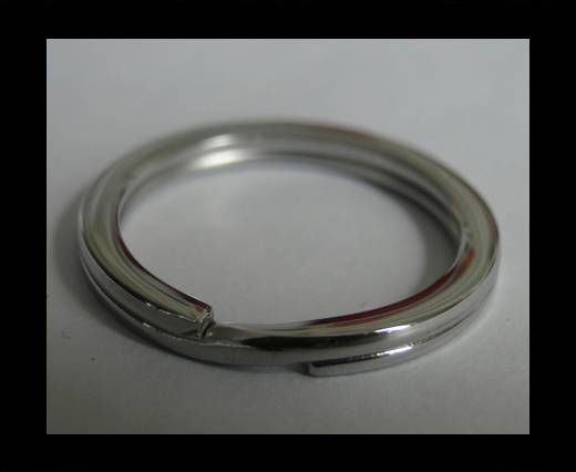 Stainless Steel Round Key Ring Finding - SSP-28-35mm
