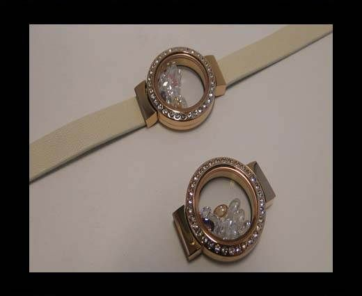 SSP-609 rose gold-10*3mm