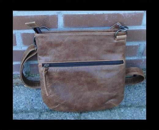 Vintage Leather Pluto Series-SUN-20498-Cognac Waxy