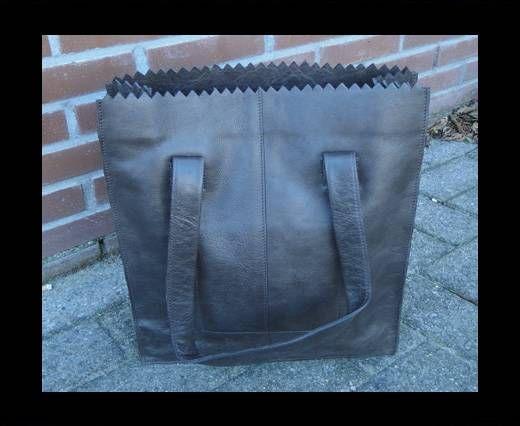 Vintage Leather Neptune Series--20519-Nutella Brown