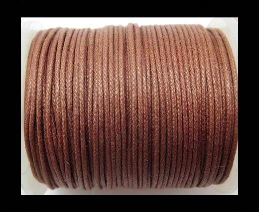 Wax Cotton Cords - 0,5mm - Dark Brown