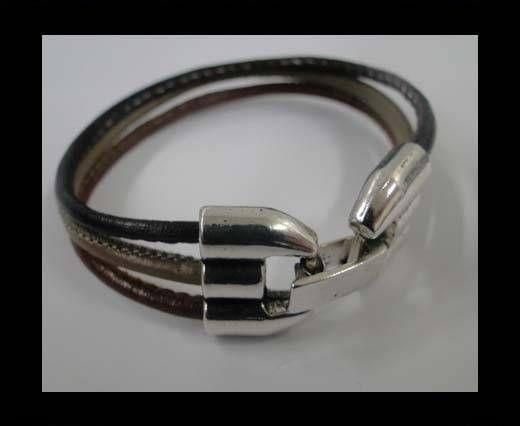 zaml28-3mm-Antique silver