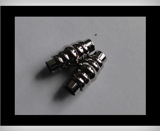 Stainless steel magnetic clasp MGST-02-6mm