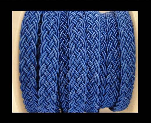 Cordón de Algodón Trenzado- Azul