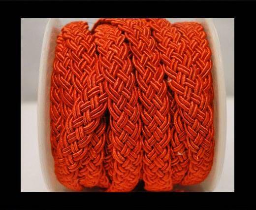 Cordón de Algodón Trenzado- Rojo