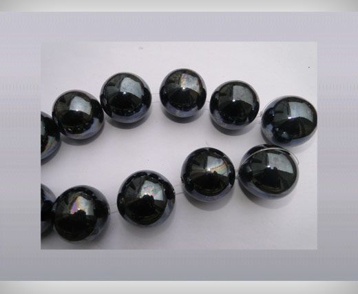 Ceramic Beads-25mm-Black