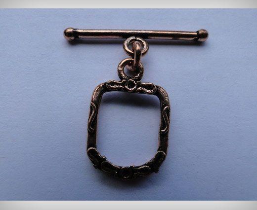 Copper Toggles (Closures, S-Hooks etc) SE-1754