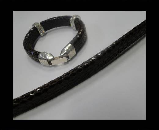 Eco Regaliz-Leather-Snake Style-Black