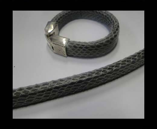 Eco Regaliz Leather-Snake Style-Grey