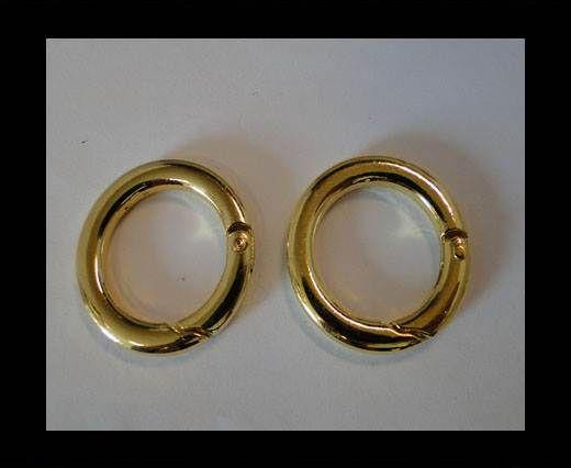 Brass fish lock FI-7040-30mm-GOLD