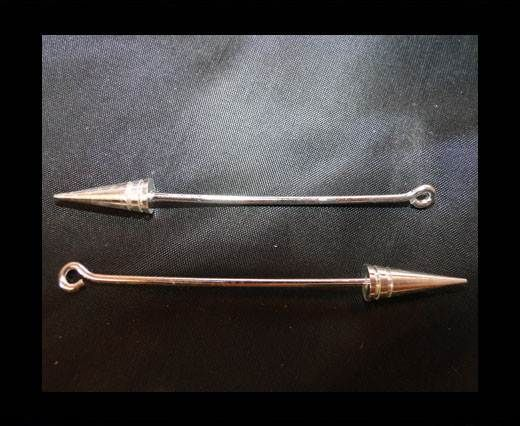 Brass fish lock FI-7071-SILVER