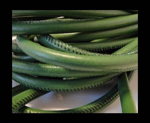 Cuero de nappa de alta calidad -Verde Oscuro-6mm