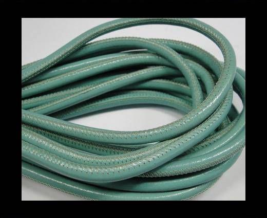 Fine Nappa-Plain-Style-Aquamarine -6mm