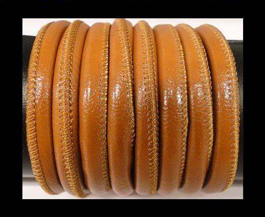 Cuero de nappa de alta calidad -Marrón Oscuro-6mm