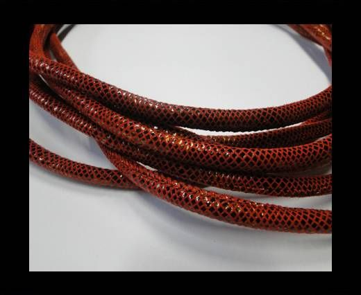 Fine Nappa-Snake-style -Version3-Red-6mm