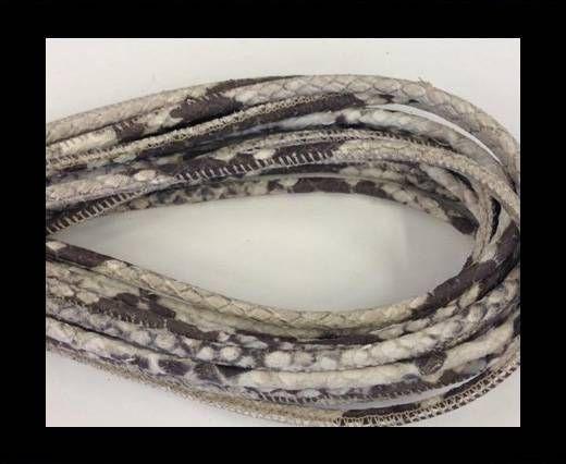 Fine Nappa-Snake style- Python  -4mm