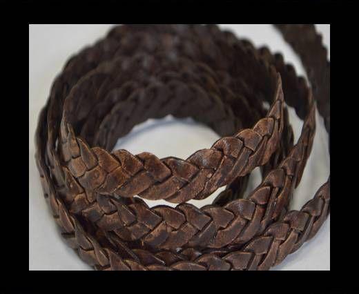 Flat braided cords 14 mm - SE/PB/13