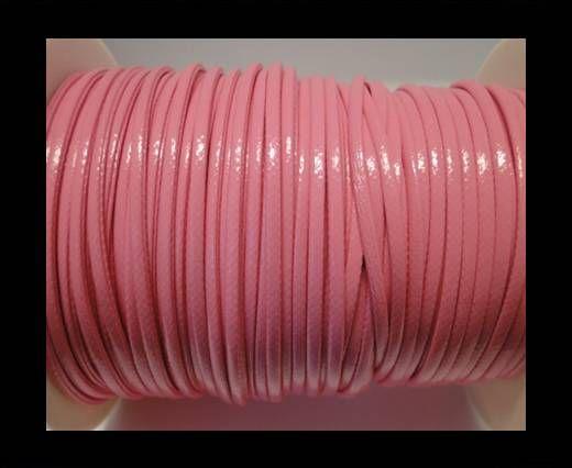 Cuero eco-nappa plano fancy- 3mm- Rosa