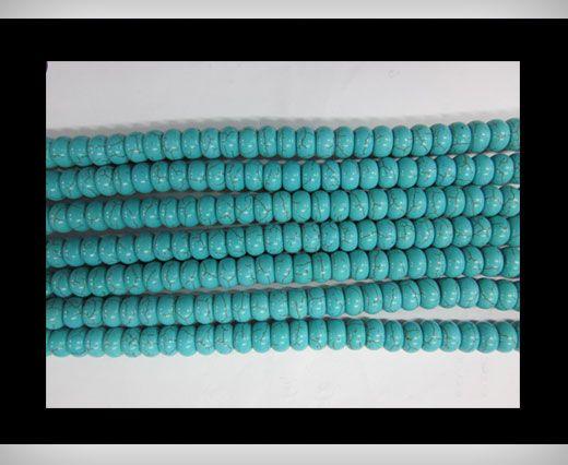 Flat Round Turquoise