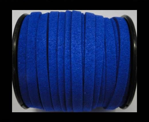 Flat Suede Cord - 5mm - Blue